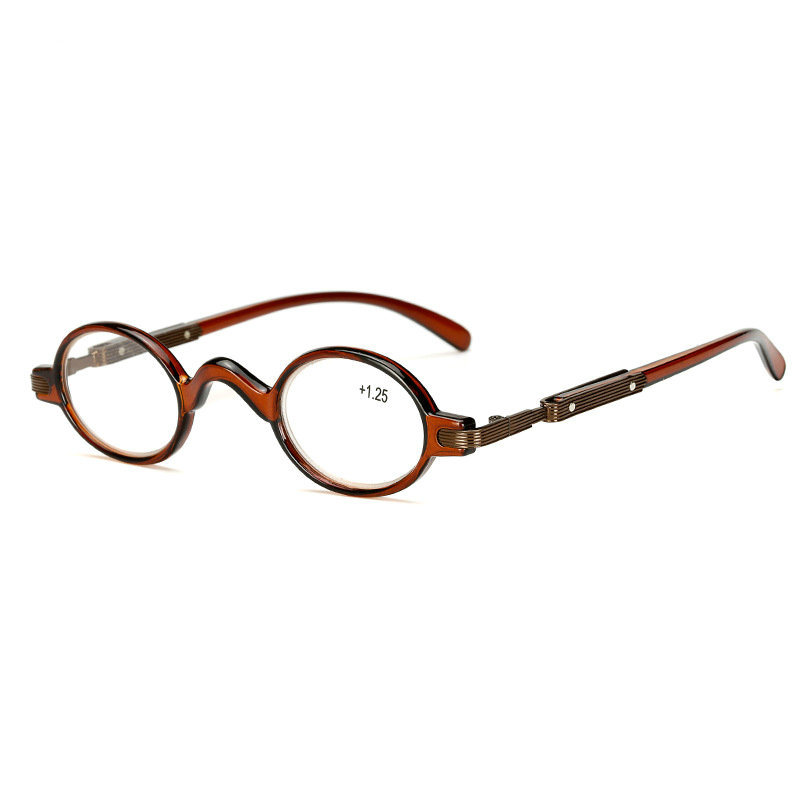 2018 Neue Stil Großhandel Persönlichkeit Runde Brille Lesebrille Für Männer Und Frauen In Die ältere Hyperopie Glasseslxl Hell Und Durchscheinend Im Aussehen