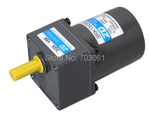 15W single phase 220v 50hz reversible AC gear motor AC reversible motor Micro AC gear motor ratio 15:1 wavac ac 1