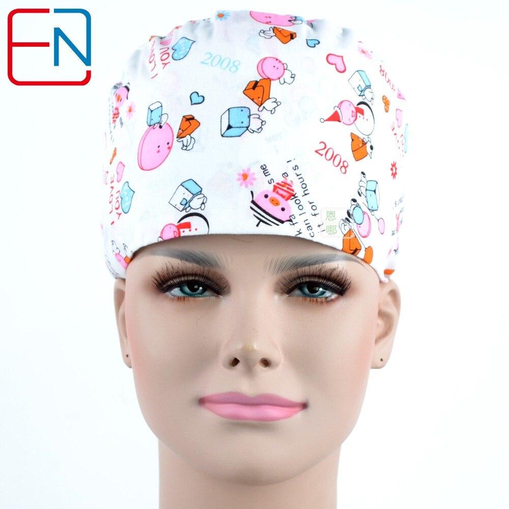 Surgical Scrub Caps ,lab Caps,skull Caps   100% Cotton One Size Medical Caps