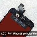 10 unids/lote para iphone 5 iphone 5c iphone 5s lcd pantalla reemplazo del conjunto sin píxeles muertos aaa calidad al por mayor