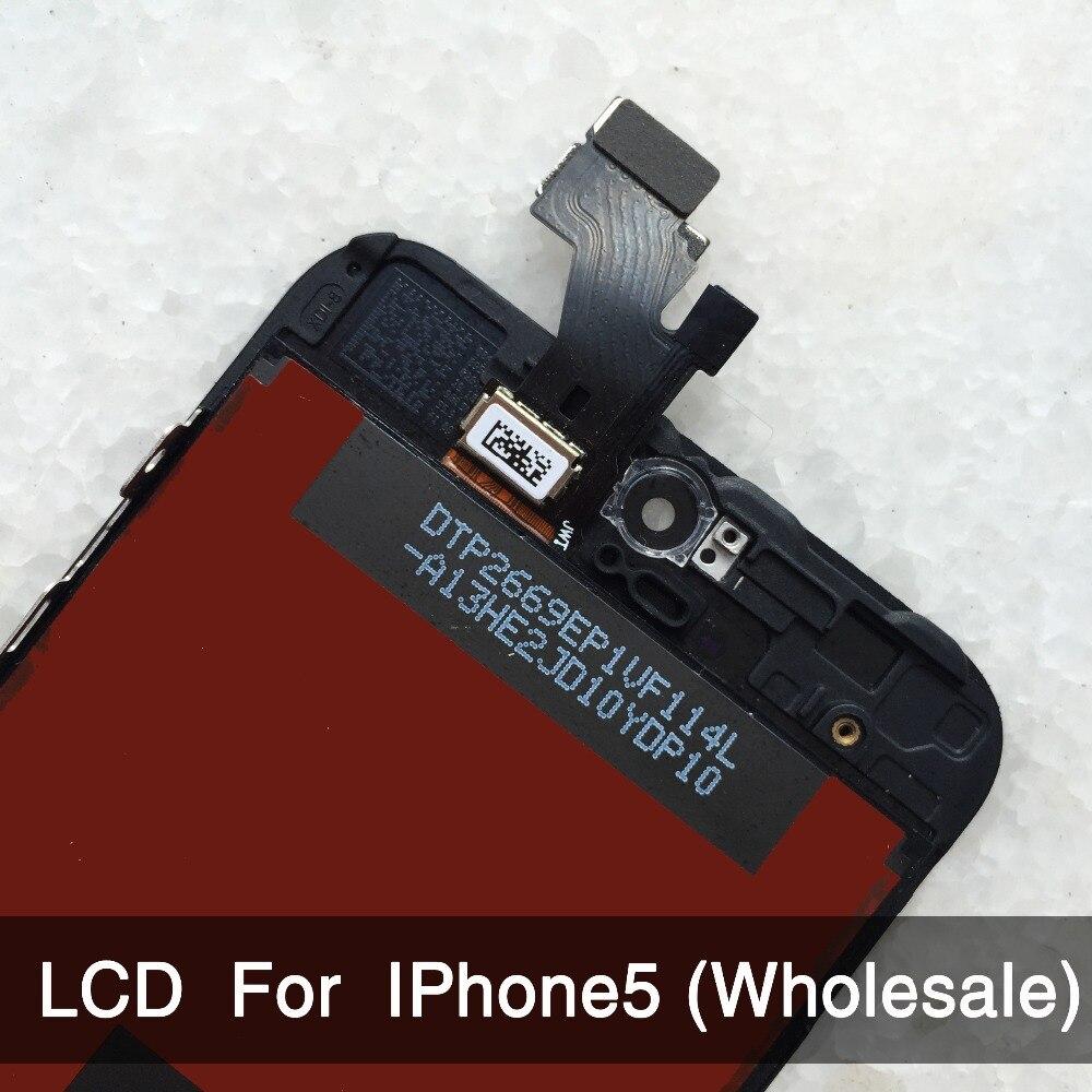 10PCS LOT For iPhone 5 font b LCD b font font b Display b font Screen