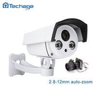 Techage SONY322 1080P IP POE WIFI Camera Auto Zoom 2 8 12mm Varifocal Lens 2MP Outdoor