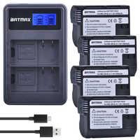 4X EN EL15 EN-EL15 EL15A batterie + LCD double chargeur pour Nikon D500, D600, D610, D750, D7000, D7100, D7200, D800, D800E, D810, D810A v1
