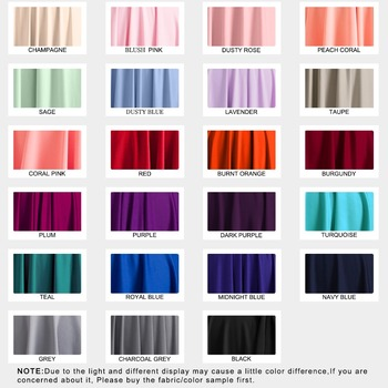 Fabric Color Sample For Bridesmaid Dress Multiway Long Dress Plus Infinity Dress Bridesmaid Wrap Dre