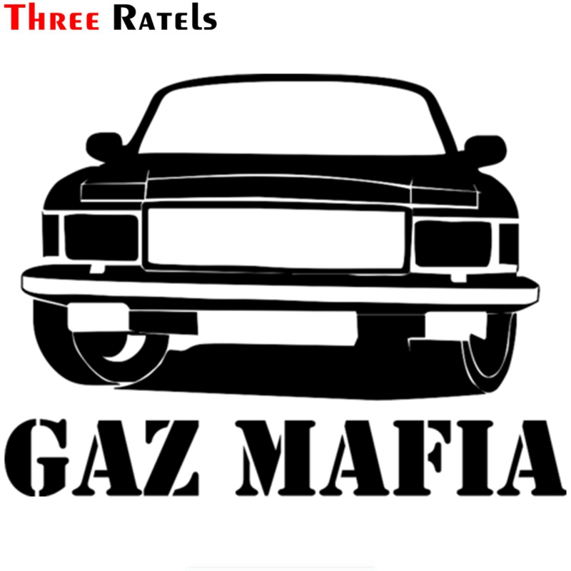 Three Ratels TZ-1032 12*15.9cm 1-4 pieces car sticker gaz mafia volga 3102 funny car stickers auto decals knl hobby voyager model pea306 soviet union gaz aaa three axis truck with cross country track metal etching pieces