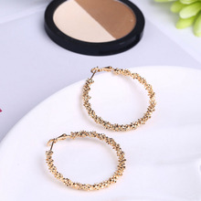 hot sale fashion simple roud women Stud Erring for wedding/party Jewelry P20