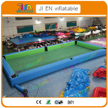 Free Shipping!kids Or Adults Inflatable Snooker Pool Table/soccer Table Game,inflatable  Snooker Billiards Table
