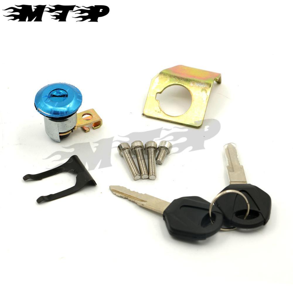 Seat Cowl Lock Key Set for Yamaha YZF R1 R6 R6S FJR1300 FZ6 FZ6S FZ6N