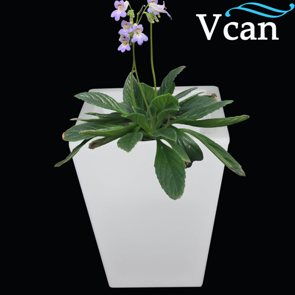 Large LED colours change Light flowerpot  Planter VC-F4055 to home or garden large scale organizational change