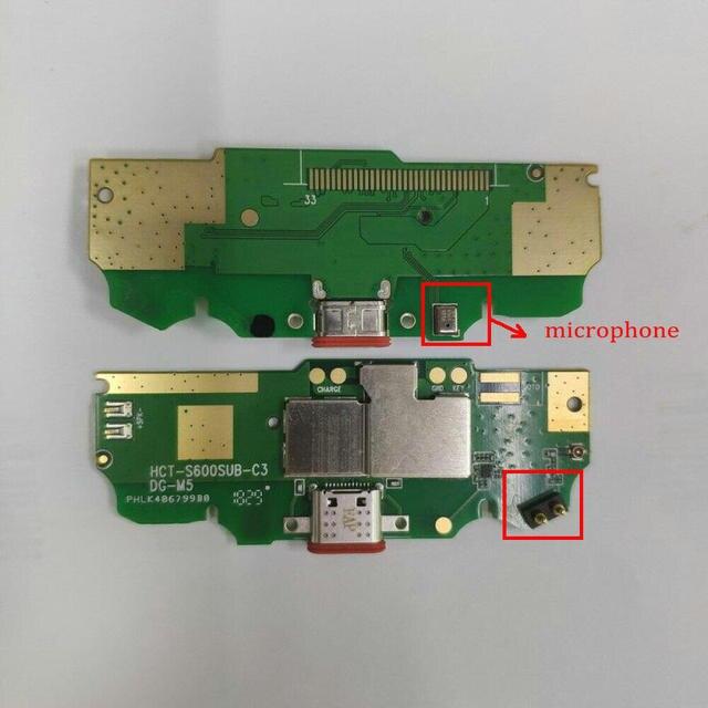 """עבור Doogee S70 & S70 לייט USB טעינת נמל לוח Flex כבל Dock מחבר חלקי 5.99 """"נייד טלפון מעגלים מיתולוגיה"""