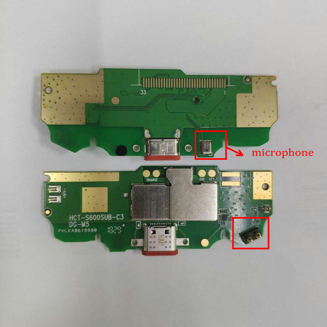"""For Doogee S70& S70 Lite USB Charging Port Board Flex Cable Dock Connector Parts 5.99""""Mobile Phone Circuits Mythology"""
