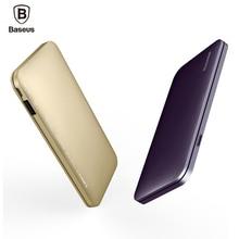 Baseus 5000 мАч Банк силы Быстрого Заряда USB Тип C & Молнии Вход Зарядное Устройство Внешняя Батарея Для iPhone Xiaomi Powerbank