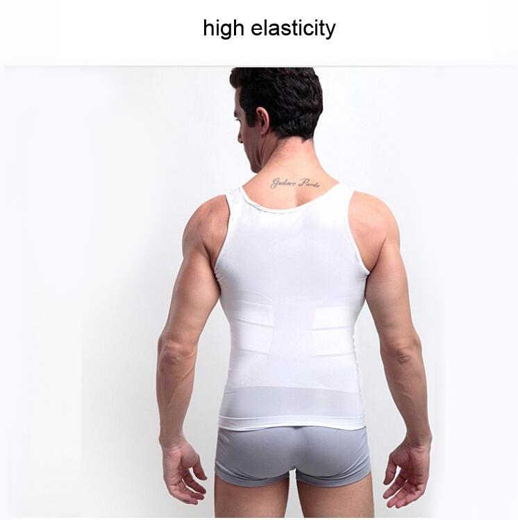 Для мужчин Корректирующее белье нижнее белье для похудения Формирователь живота тренировочный жилет мужской корсет помочь устранить тела облегающее нижнее белье