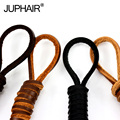JUP 12 Pairs Senza Fretta Cowhide Leather Shoelaces Men Women Shoestrings Boot Shoe Lace Shoelace Shoes You Can Order Any Length