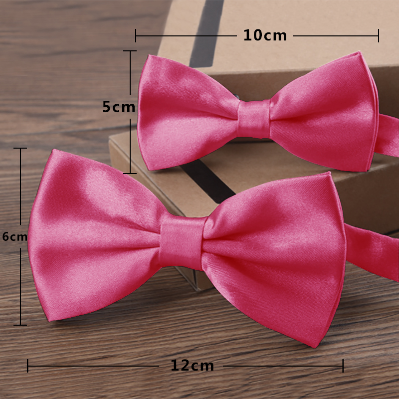 Bekleidung Zubehör Verkauf 1 Pc 16 Farbe Fliege Für Männer Klassische Feste Neuheit Herren Einstellbare Hochzeit Hotel Krawatte Schwarz Rot Lila