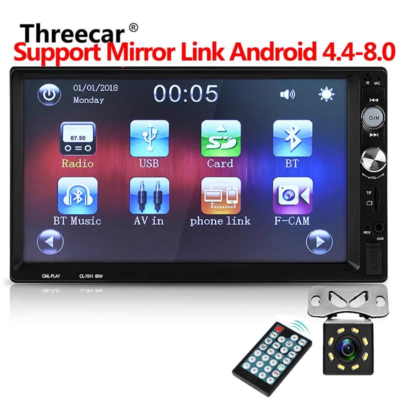 2din Autoradio Car Backup Monitor 1024*600 7
