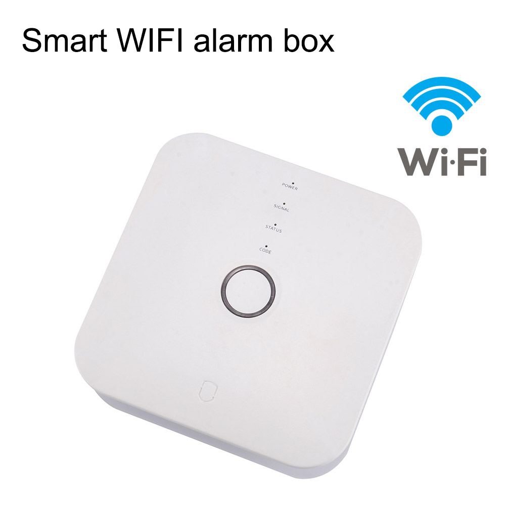 High Quality Wi-Fi GSM SMS Call House Security Alarm System WIFI Push Message Alarm Smartphone APP Control image