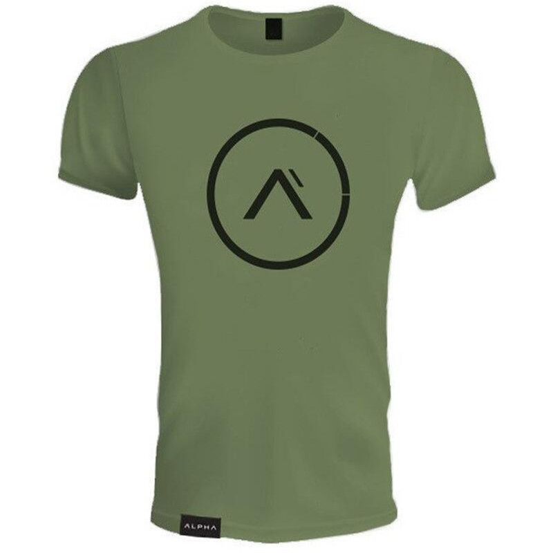 New Clothing Fashion T Shirt Men Cotton Breathable Mens Short Sleeve Fitness t-shirt Gyms Tee Tight Casual Summer Top 16
