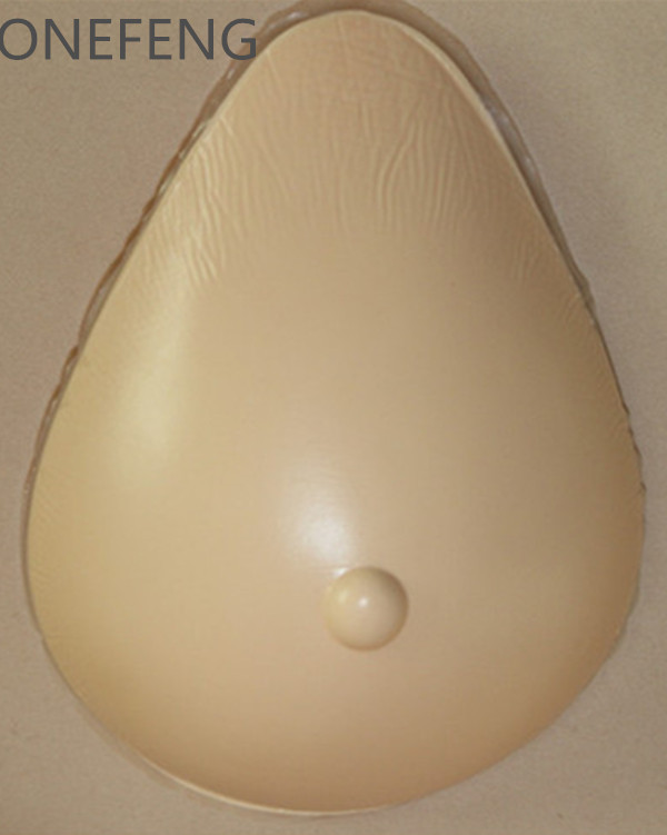 ФОТО 1 Piece for Mastectomy Women or Shemale Health Care AT Tear Drop Shape Light Weight Mastectomy Artificial Silicone Fake Breasts