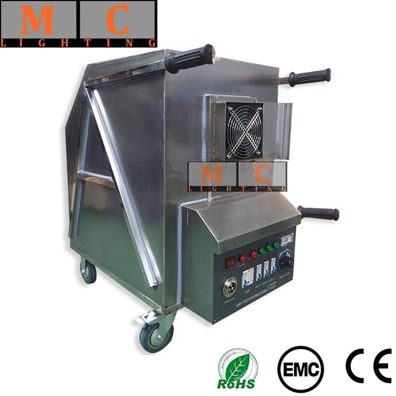 Fumée de brouillard de Machine de glace sèche de DMX 9000 W