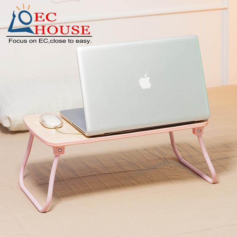 Simple notebook comter with folding bed dormitory lazy artifact small table desk FREE SHIPPING