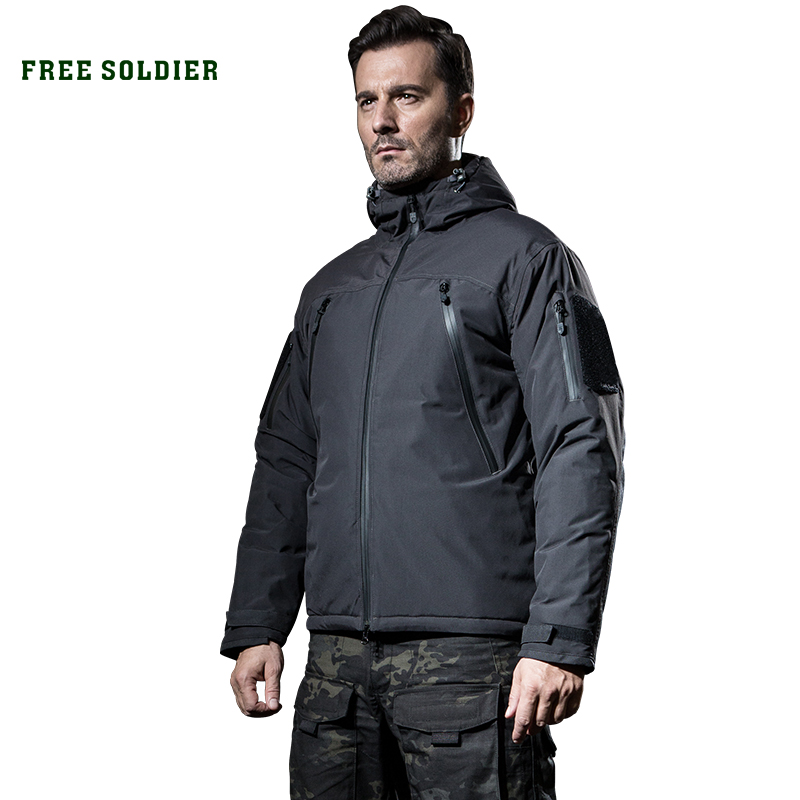 Jackets Free-Soldier Hiking Camping Military-Cloth Fleece Tactical Sports Outdoor Winter