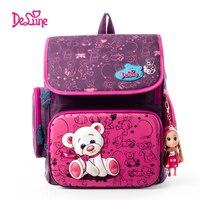 2015girls School Backpack Winner Purple Durable Backpack Hot Sale