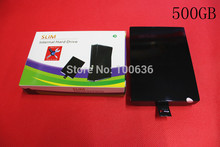 Hot Sale 500GB Internal Slim Hard Disk Drive for XBOX360 500GB HDD Game Players stock