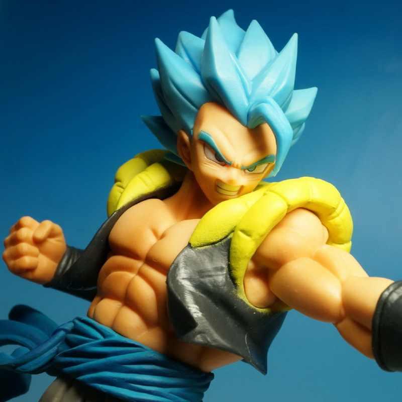 Dragon Ball Z Super Brinquedos Figura de Ação Goku Vegeta Gogeta Fusão Anime PVC Boneca Figurine Collectible Presente Modelo de Brinquedo Do Bebê para o Miúdo