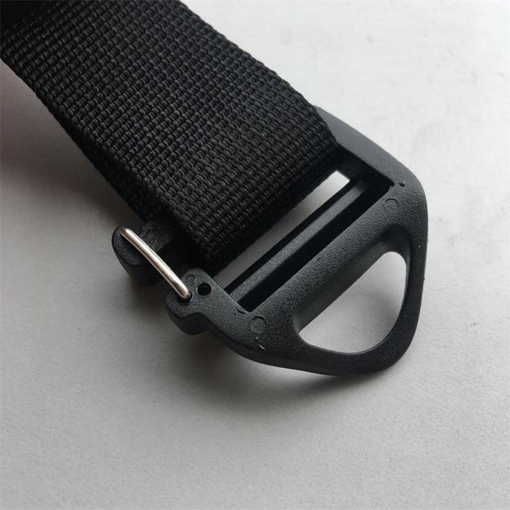 8Pcs 1/'/' Hook Outdoor Adjust Webbing Buckle Backpack Strap Belt Clip Black