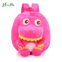 Cute Cartoon Kids Plush Backpacks Toy Children S Gift Kindergarten Unisex Baby Student Stuffed Animal Dinosaur