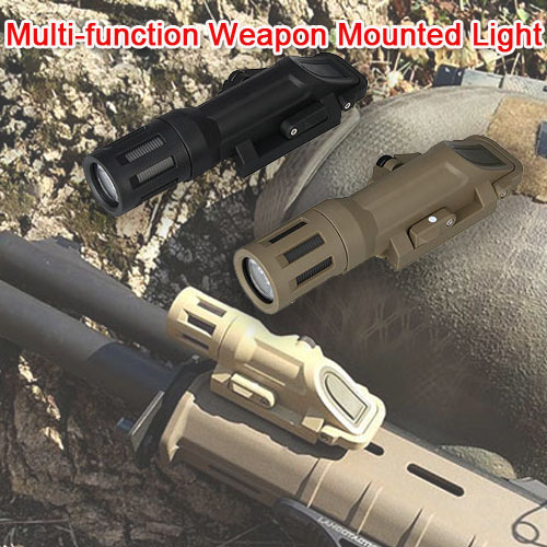 TRIJICO  Military White Multi-function Weapon Mounted Light Hunting Weapon Light For Hunting Paintball Accessory HS15-0092