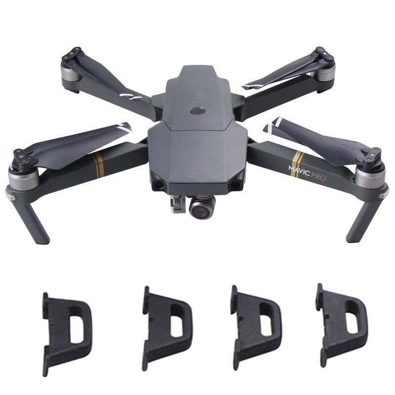 Brdrc 4pcs/set Flexible Rear Landing Gear Feet Legs Replacement Holder For Dji Mavic Pro Drone Consumer Electronics