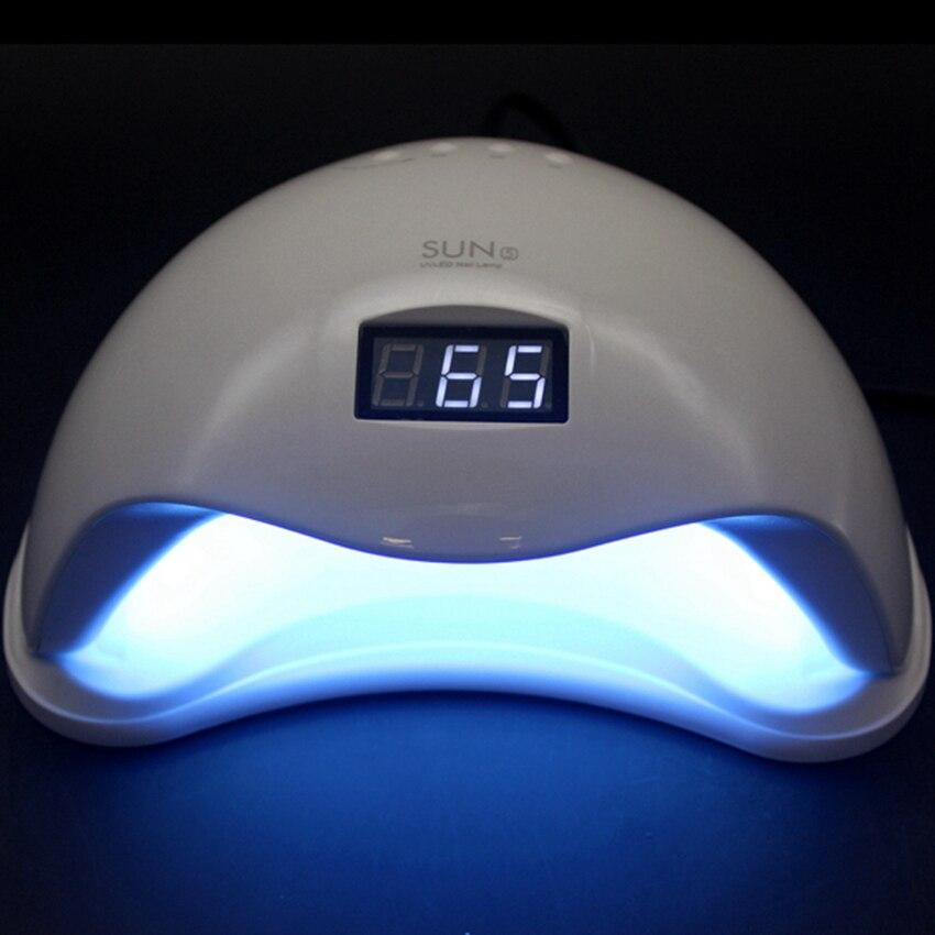 Original SUN5 Professional 48W UV LED Lamp Nail Dryer White Light Polish Machine for Curing Nail Gel Art Tool Free shipping 48w professional led uv lamp nail polish dryer nails light for curing nail gel polish nail art manicure tool sun6 eu plug