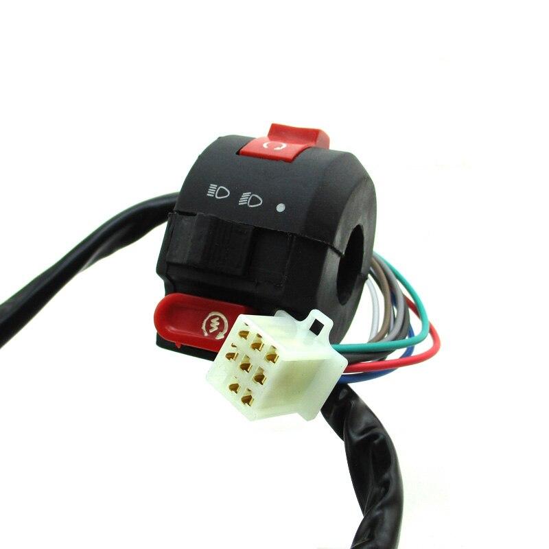 Kill Light Start Switch For 50cc 70cc 90cc 110cc ATV Kazuma Taotao Coolster Quad