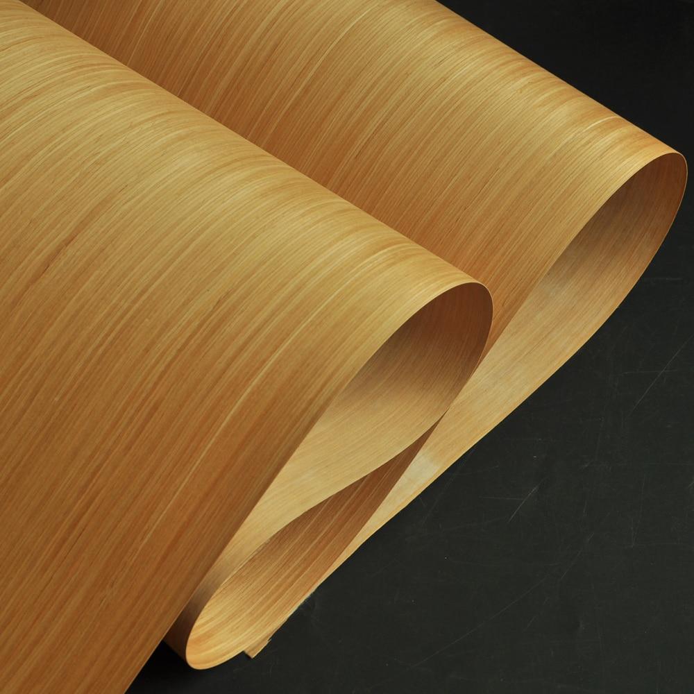 Dark Brown Wenge Engineered Wood Veneer With Fleece Backer