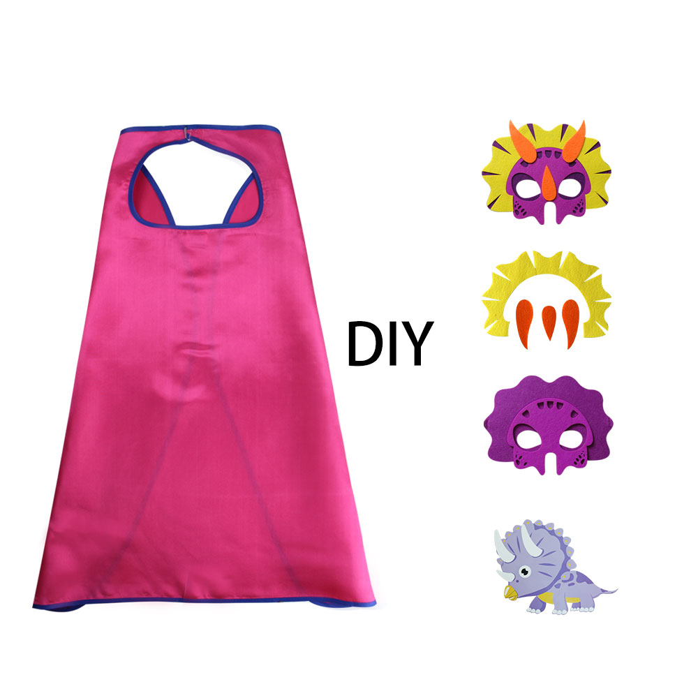 D.Q.Z Brillante color caliente vender Pascua bricolaje púrpura Trike - Disfraces