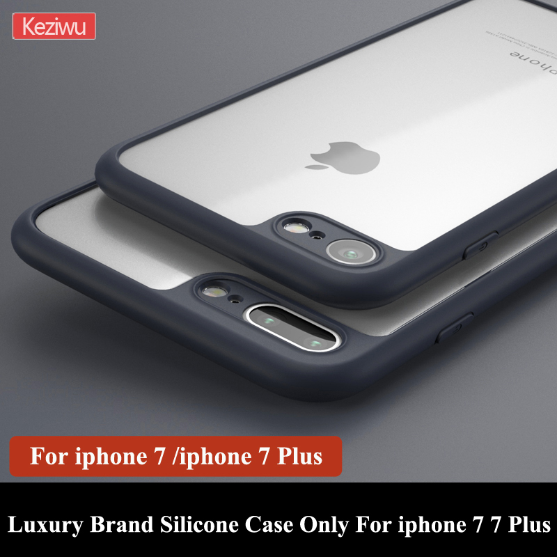 Ultrathin Slim 0.38 MM Phone Case For Apple iphone 7 7 Plus Soft Silicone Case Transparent Case For iphone 7 7Plus BA220