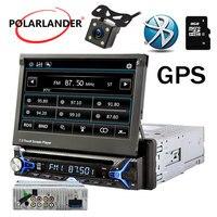 HD gps навигации Мультимедиа Авто Радио DVD/MP3/USB/SD карты 7 Mp5 радио Кассетный проигрыватель автомобильный радиоприемник с Bluetooth автомобильный ра
