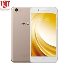 Original VIVO Y53 Mobile Phone 5.0 inch Snapdragon 425 Quad Core 1.4 GHz 2GB RAM 16GB ROM Android Support OTG  4G LTE Smartphone