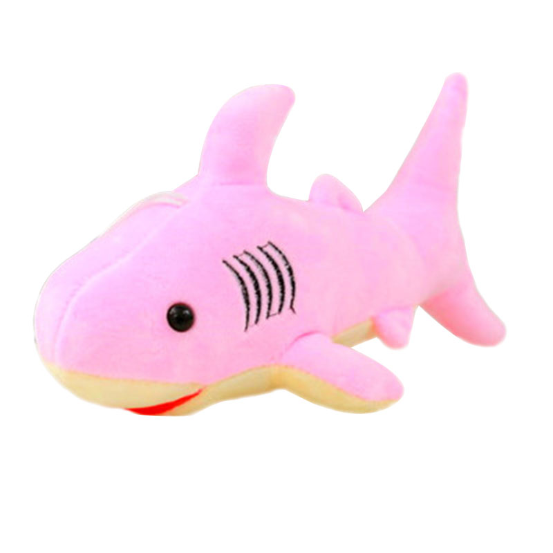 32 CM Shark Simulation Plush Soft Toy Stuffed Gift Adults Kidsde Lovely Cute stuffed animal 44 cm plush standing cow toy simulation dairy cattle doll great gift w501
