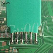 Сжигание загрузки линии наперсток 2,54 мм-6 P Запись программа зонд Тест иглы пружинный штифт 6 футов