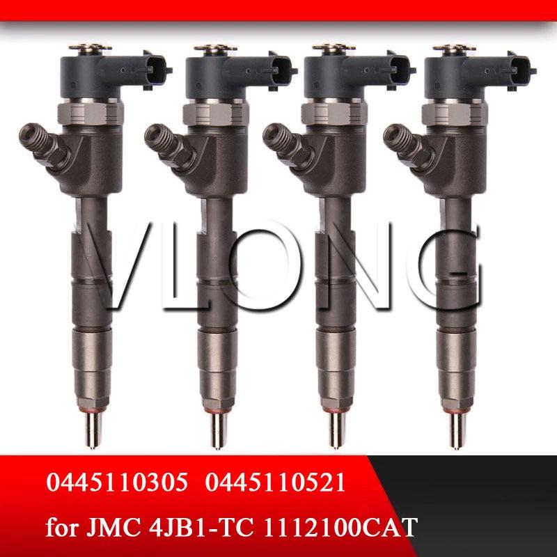 0 445 110 305 Rampe commune Injecteur de carburant CRI 0445110305 D'injection 0445 110 305 pour JMC 4JB1 1112100CAT