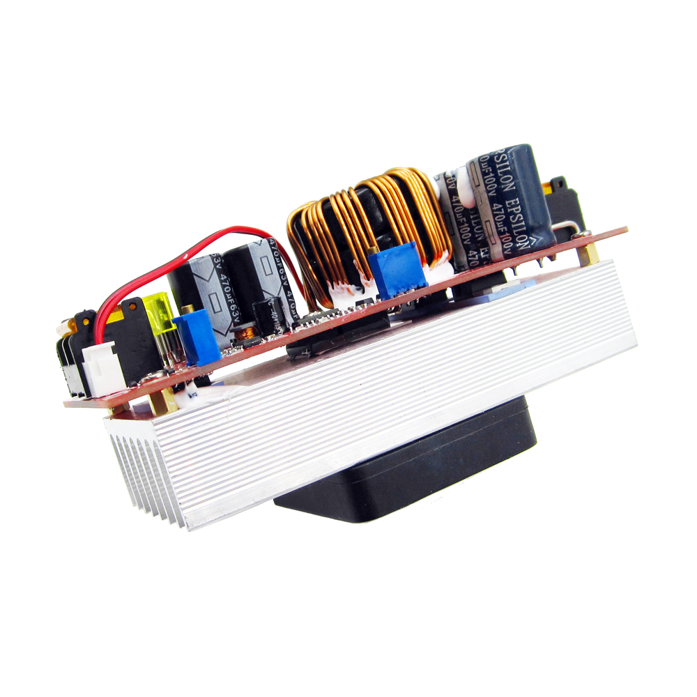 1500W DC-DC Step-up Boost Converter 10-60V to 12-90V 30A Constant Current Power Supply Module LED Driver Voltage Power Converter waterproof regulator module step up dc 10v 12v 18v to dc 19v 15a 285w for solar power system voltage converter transformer