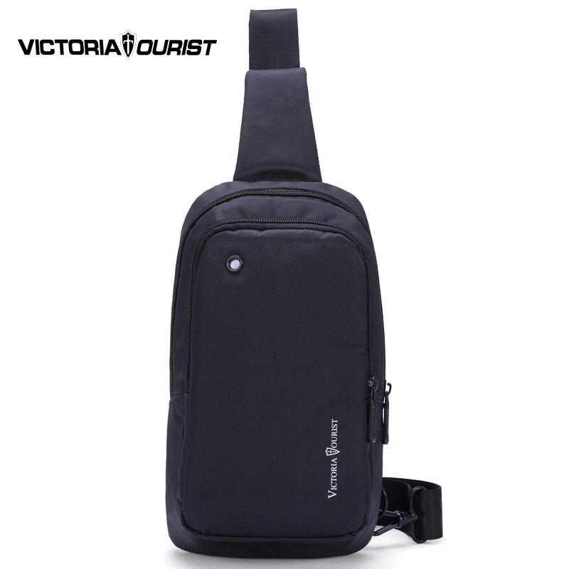 VICTORIATOURIST black messenger bag men/men shoulder bags/waterproof nylon crossbody bag for men/V5007  цены