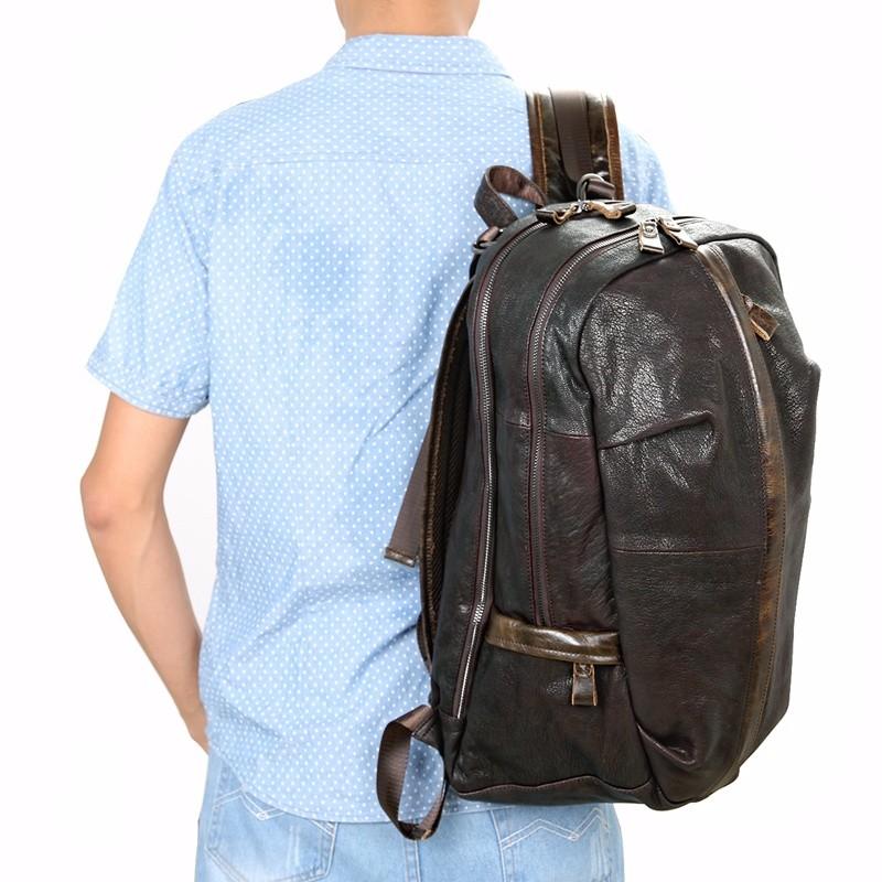 school leather laptop rucksack (7)