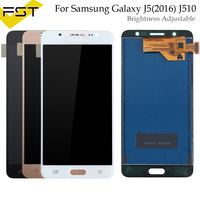 Adjust brightness For Samsung Galaxy J5 2016 SM J510F J510FN J510M J510Y J510G J510 LCD Display Touch Screen Digitizer Assembly
