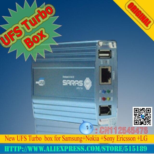 Оригинальный Новый UFS Turbo коробка UFS HWK КОРОБКА для Сэма и НК UFST Box (В Упаковке с 4 кабелей)