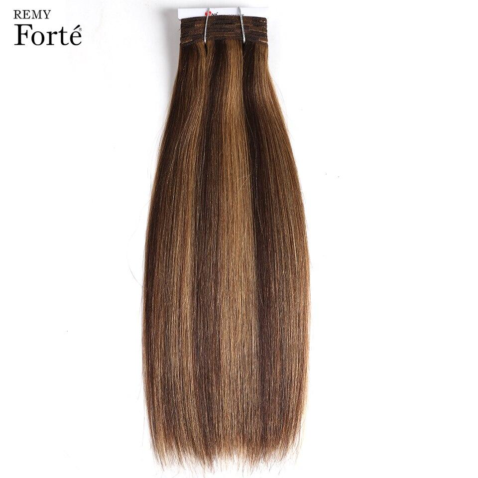 Remy forte Hair Extension Brazilian Hair Weave Bundles Virgin Hair P4 27 Cplor 115g Human Hair