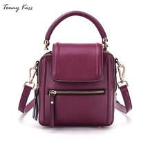 Tonny Kizz women fashion hand bag vintage crossbody bags for women leather shoulder messenger bags large capacity female tote